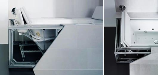 moderne badezimmer einrichten mit Sundeck Badewanne
