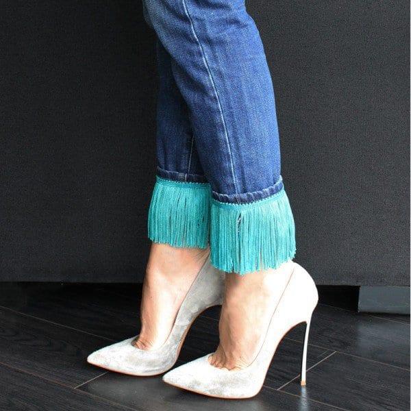 kreative bastelideen für jeans