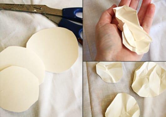 DIY Blumenkranz aus Papier