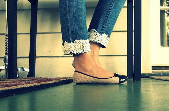Alte jeans umstylen