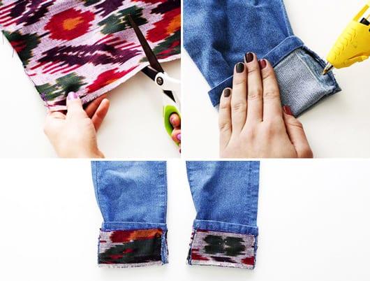 bastelidee jeans