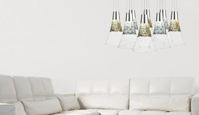 moderne pendelleuchten und luxus ledersofa weiß