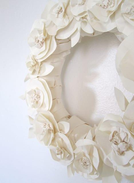 Wanddeko selber basteln aus papier