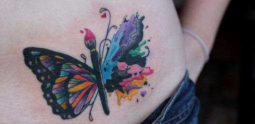 schmetterling tattoo inspiration