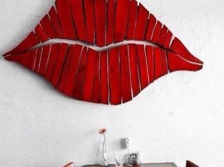 Ideen für Wandgestaltung-coole Wanddeko Selber Machen