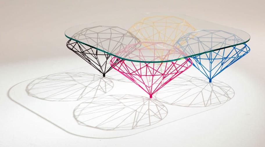 Brilliant f r eine brillante gestaltung freshouse for Design couchtisch ring