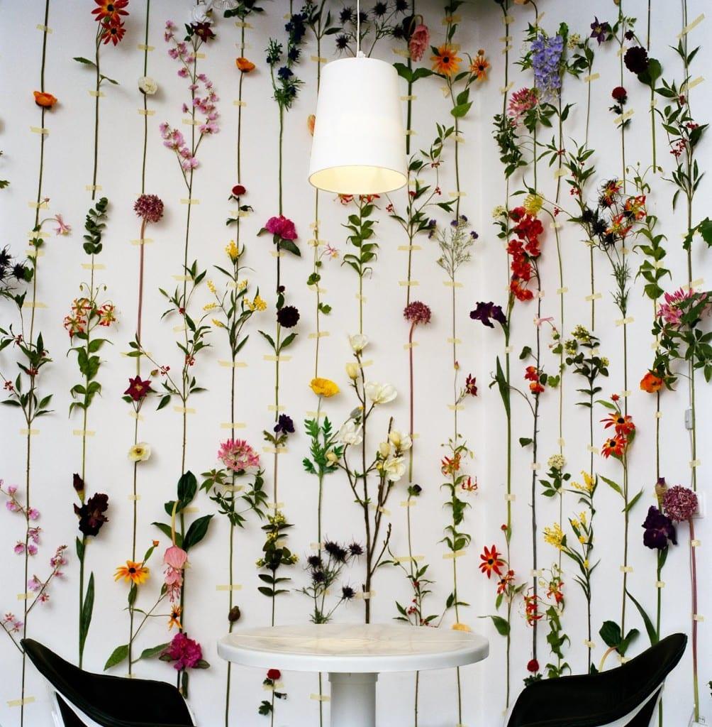 wandgestaltung selber machen mit echten blumen dekoration wohnung selber machen - Fantastisch Wohnung Dekorieren Selber Machen