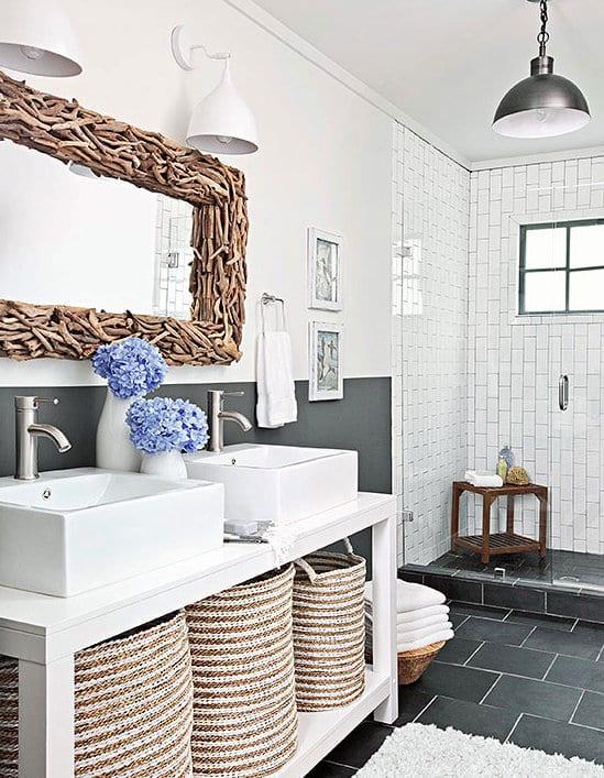 Bevorzugt Badezimmer Grau - 50 Ideen für Badezimmergestaltung in Grau BB18