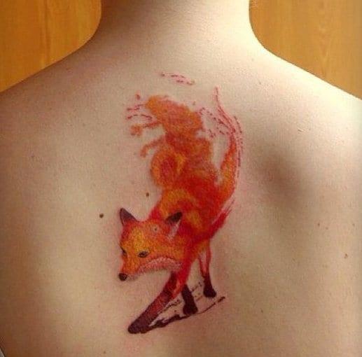 tattoo flash idee für rücken