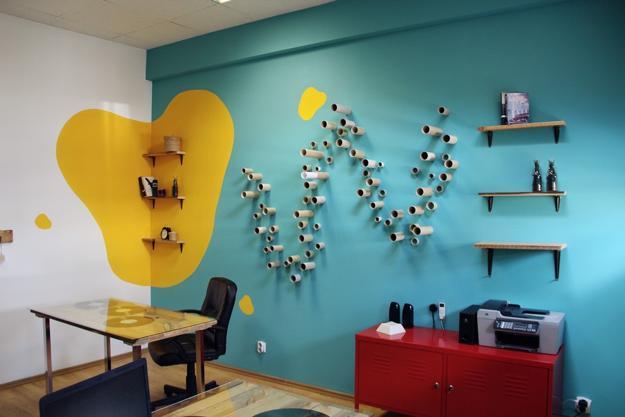 Ideen Für Wandgestaltung-coole Wanddeko Selber Machen - Freshouse Farbige Wande Ideen