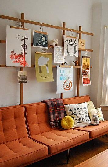 Coole Wanddeko Idee Für Das Kinderzimmer Im Skandinavischen Stil ...