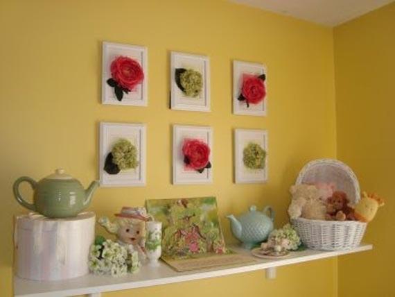 kinderzimmer farbgestaltung mit wandfarbe gelb