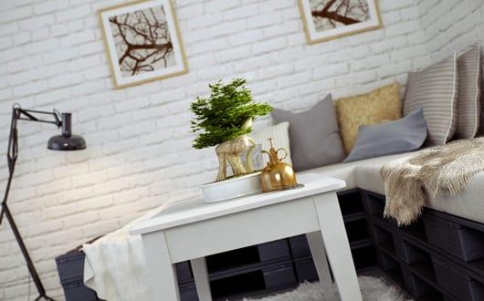 Kleines Wohnzimmer Inspirationen Mit Weissem Interior