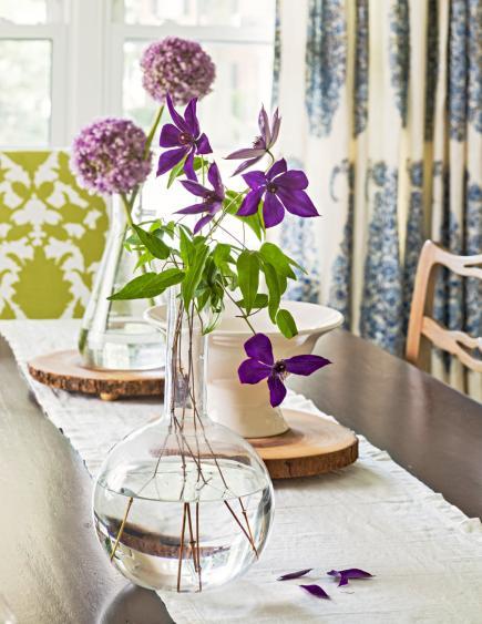 tischdeko frühling selber machen mit frühlingsblumen