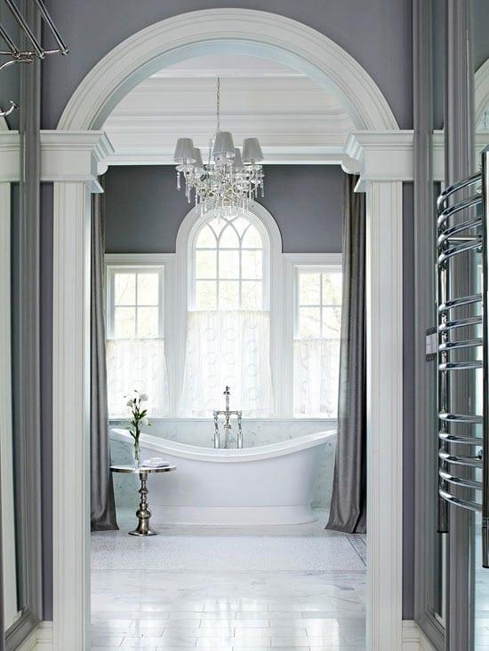 Badezimmer Grau - 50 Ideen für Badezimmergestaltung in