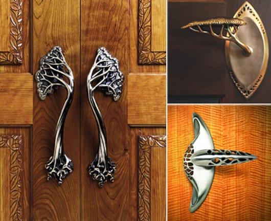elegante türgriffe für Eingangstüre aus metall