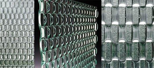idee für raumteiler aus glas