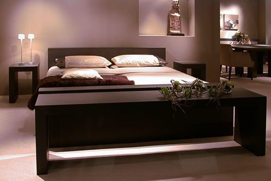 wasserbett im wohnzimmer_schlafzimmer dekorieren
