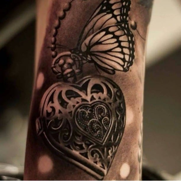coole Schmetterling Tattoo Ideen - fresHouse