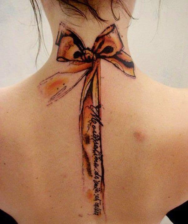 frauen tattoo vorschläge für nacken