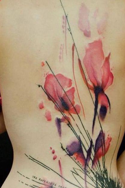 bcoole tattoos rücken für frauen