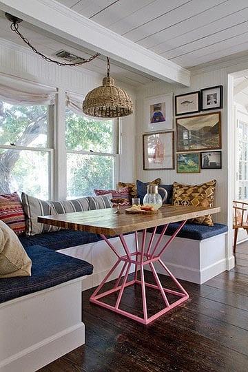 kleine küche mit sitzecke küche gestalten