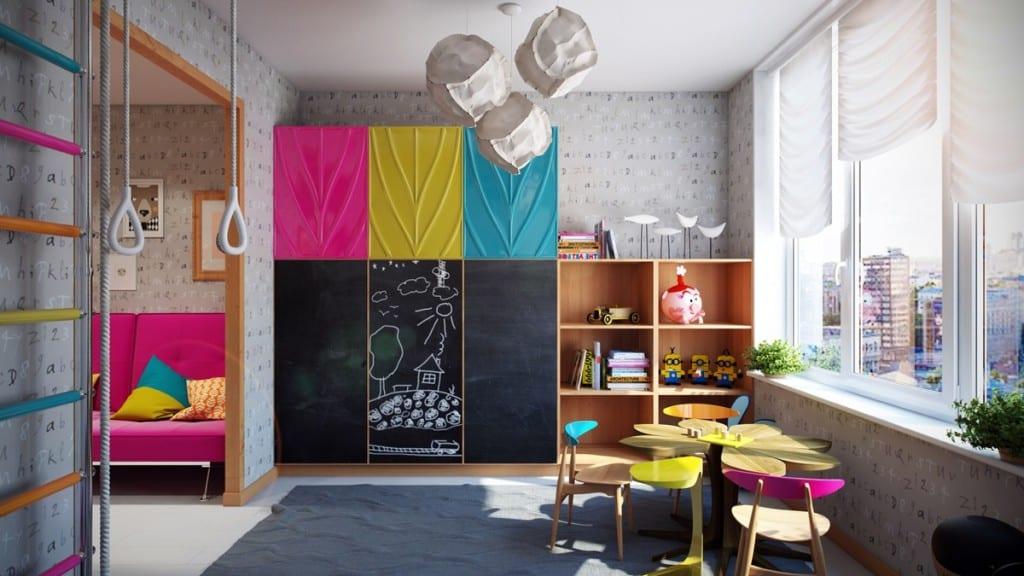 coole farbe für kinderzimmer