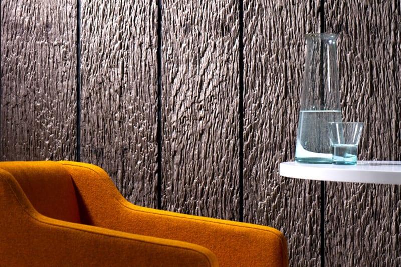 Holzpaneelen mit Holzstruktur für coole Wandgestaltung
