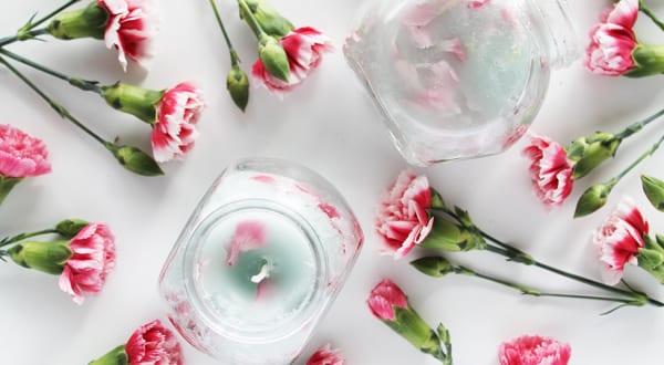 Blumenkerzen basteln freshouse - Coole tischdeko ...