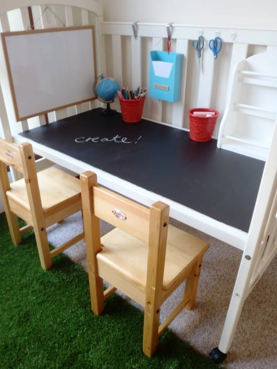 Kinderschreibtisch selber bauen  Schreibtisch selber bauen - 55 Ideen - fresHouse