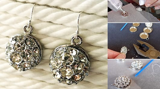 geschenkideen für Sie und zum Muttertag mit DIY Ohrringen