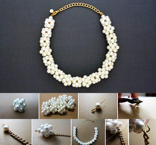bastelidee für perlenkette als Geschenk für Sie
