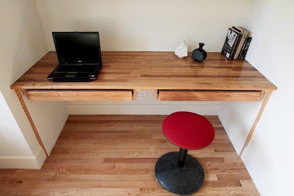 Einrichtung Kleiner Räume Mit DIY Schreibtisch