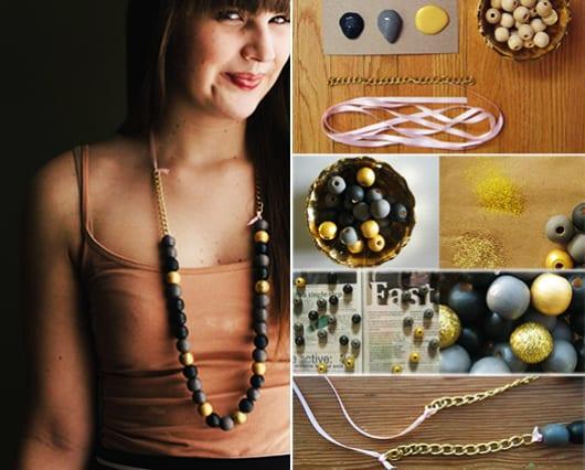 coole DIY Halskette als Geschen zum Muttertag
