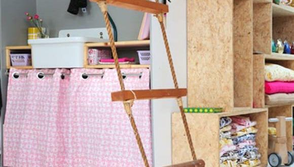 strickleiter f rs kinderzimmer freshouse. Black Bedroom Furniture Sets. Home Design Ideas