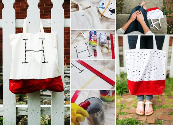 kreative Geschenkidee und Bastelidee für DIY Stofftasche