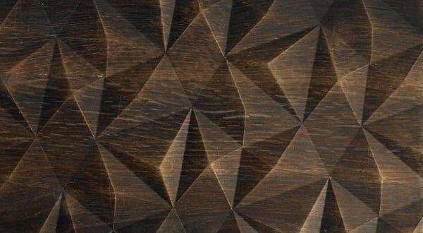 moderne Einrichtung mit Holz In Form