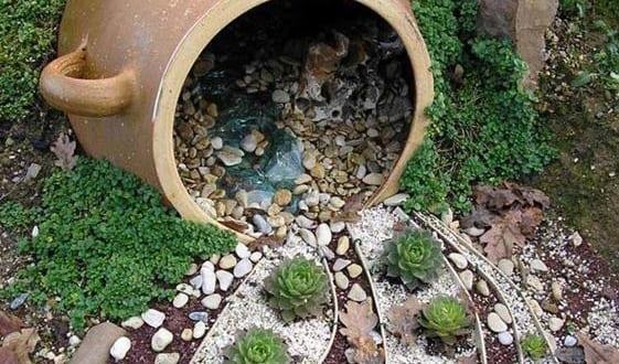 Coole gartendeko idee f r terrarium freshouse for Gartendeko idee