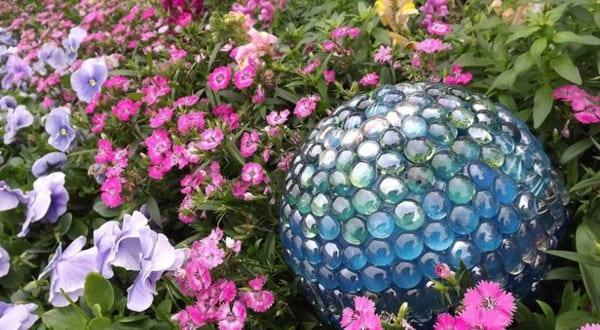 gartendeko glaskugeln – msglocal, Garten und bauen