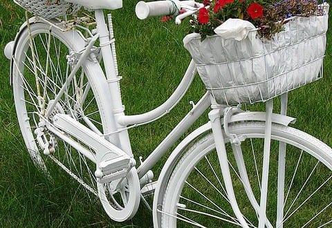 Fahrrad als gartendeko freshouse - Gartendeko fahrrad ...