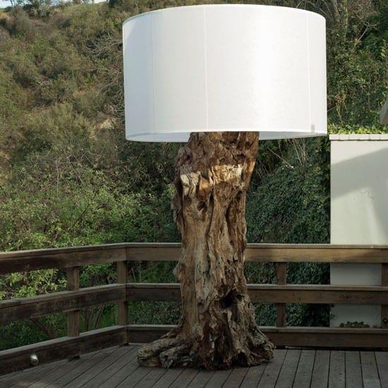 fantastische idee für gartendeko mit Lampe von Devon Driftwood ...