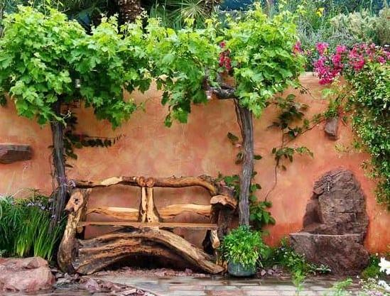 Gartendekoration Aus Altem Holz | rheumri.com
