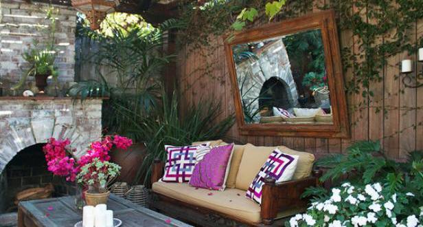 Gartengestaltung und interessante gartendeko mit spiegel for Gartengestaltung john