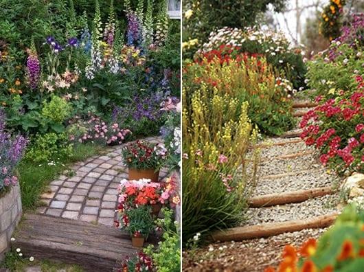 cottage garden - eine der beliebtesten gartenformen - freshouse, Garten und erstellen