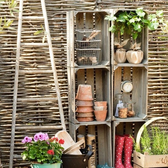 88 coole gartendeko inspirationen freshouse for Idee gartenzaun