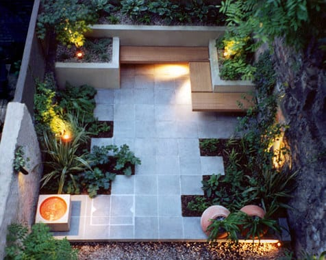 Gartengestaltung mit sitzecke freshouse - Gardening for small spaces minimalist ...