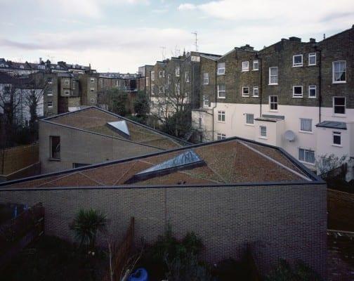 Bauen mit Ziegeln als Idee für gestaltung von Wohnhäusern