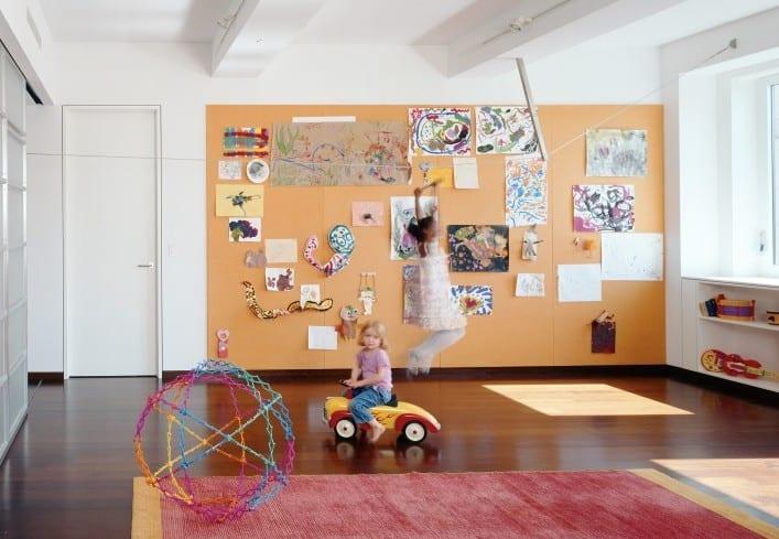 ideen für kinderzimmerausstattung zum Spielen