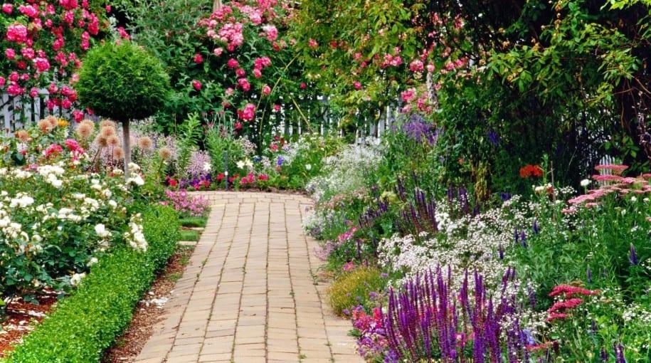 cottage garden - eine der beliebtesten gartenformen - freshouse, Hause und garten