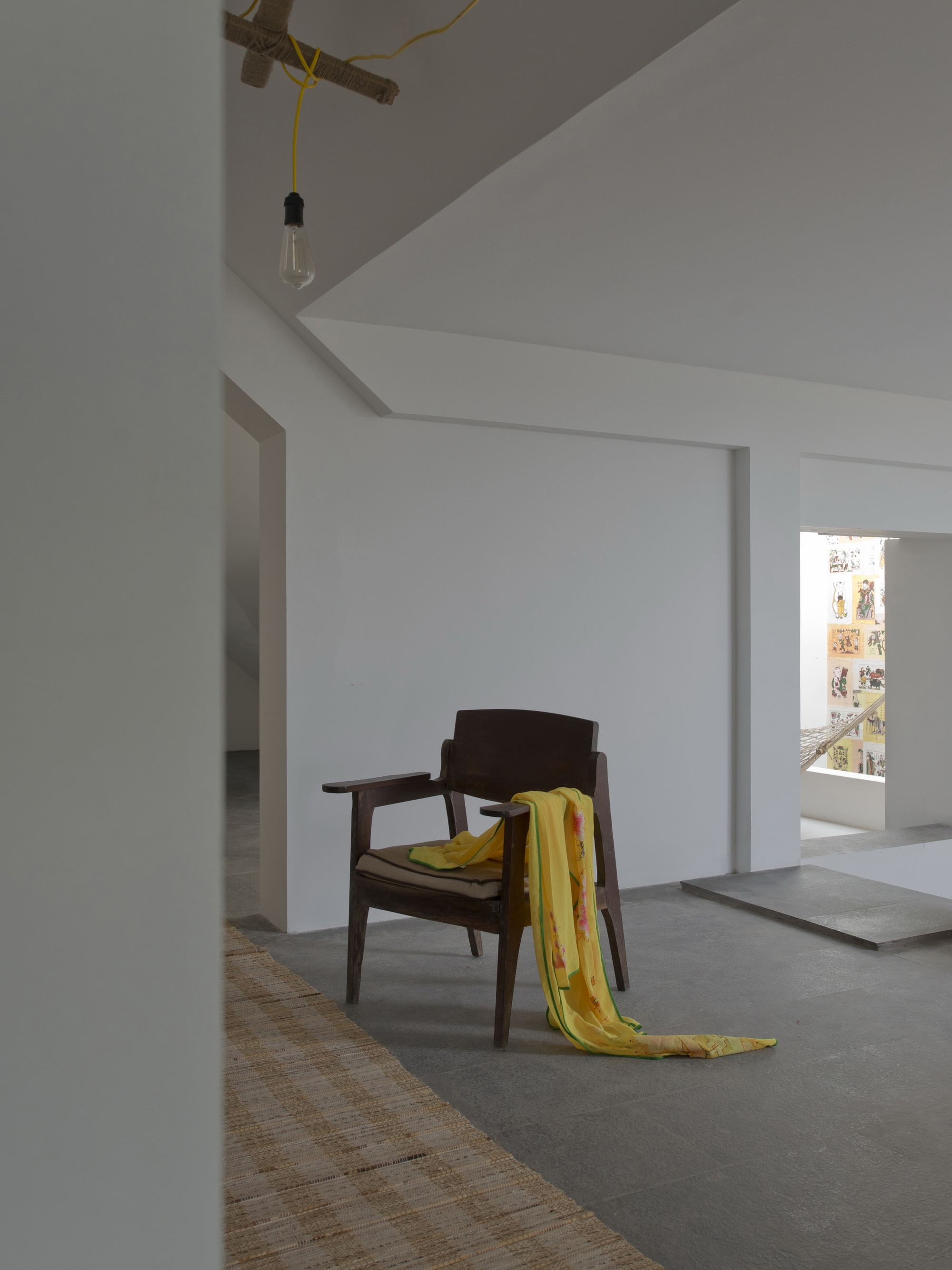 filigrane Raumgestaltung vom Origami inspiriert - fresHouse